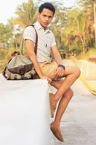 DIY shirt - giordano panties - H&M loafers