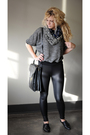 Black-american-apparel-sweater-black-american-apparel-leggings-black-aldo-sh