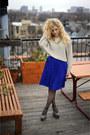 Liz-claiborne-coat-jeffrey-campbell-boots-sweater-american-apparel-skirt