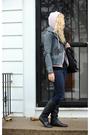 Pink-american-apparel-sweater-gray-for-joseph-jacket-black-american-apparel-