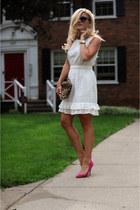 Peter Som for DesigNation dress - Clare Vivier bag - Steve Madden pumps