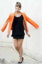 carrot orange Mango blazer