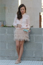 skirt - shoes - blouse