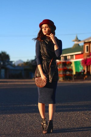 etienne aigner purse - Report boots - Forever 21 dress