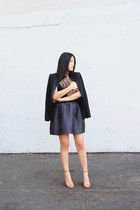 Tibi skirt - Zara blazer - Jerome Dreyfuss bag - 31 Phillip Lim heels