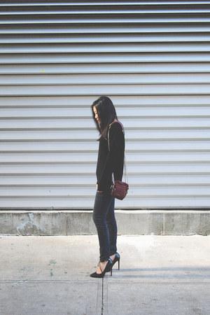 crimson Alexander Wang bag - black Topshop jumper