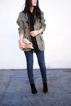 Topshop boots - J Crew jacket - rag & bone shirt - American Apparel bag