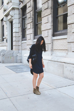 Isabel Marant boots - Kahlo dress