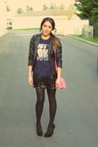 Target bag - Forever 21 skirt - blouse