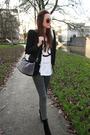 Gray-veromoda-leggings