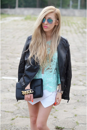 top - jacket - shorts
