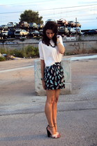 Dahlia shorts - asos t-shirt - Giuseppe Zanotti heels
