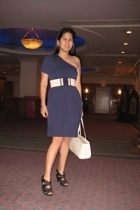 Be dress - Louis Vuitton Epi Madeleine purse - Mango belt - Zara shoes