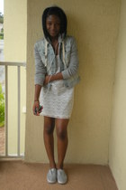 heather gray Guess jacket - heather gray cotton Payless shoes
