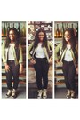 Chartreuse-printed-macys-blazer-white-striped-popbasic-top