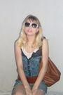 White-op-sunglasses-blue-mossimo-shirt-brown-belt-blue-shorts-brown-purs