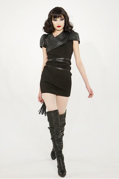 gwen stefani dresses. black LAMB by gwen stefani