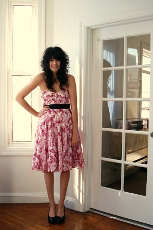Anthropologie dress - H&M shoes