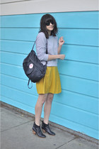 mars Rachel Comey shoes - APC skirt - APC sweatshirt