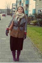 crimson Sacha boots - tawny warehouse vest
