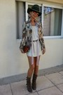 Brown-marc-jacobs-boots-forest-green-tantra-hat-cream-isabel-marant-scarf