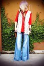 Wide-leg-free-people-jeans-macrame-winter-kate-vest-tunic-zara-blouse