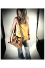Yellow-apparellel-top-levi-strauss-jeans-char-purse-orange-apparellel-earr