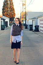 shirt - sweater - skirt