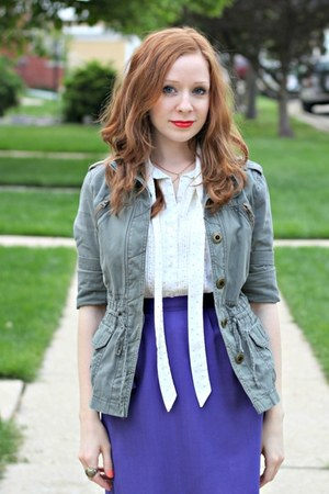 skirt - jacket - blouse