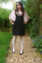 topshop via ebay top - Etsy dress - asos tights - Repetto shoes
