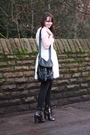 White-topshop-dress-black-primark-leggings-black-topshop-boots-black-urban