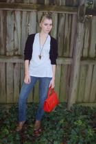 Gap shirt - delias jeans - Jimmyz necklace