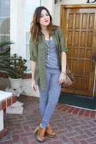 H&M shirt - Jeffrey Campbell shoes - American Apparel leggings