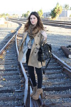 H&M coat - Jeffrey Campbell shoes - asos purse