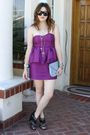 F21-dress-zara-shoes-vintage-purse-gucci-sunglasses