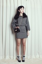 60's cute tweed suit by ARTFITSHOP