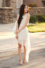Chiffon-oasap-dress-yeswalker-bag-claw-bangle-merrin-gussy-bracelet