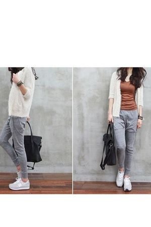 gray amour la vie leggings