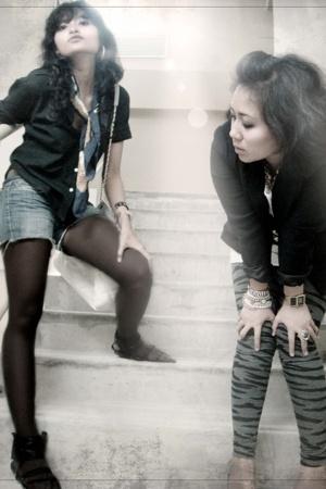 me & friend