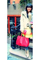 Opening Ceremony boots - State and Lake jacket - Prada bag - Leifstoddir top