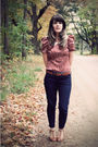 Red-modcloth-top-brown-urban-outfitters-belt-blue-gap-jeans-brown-urban-ou