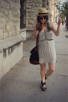 silver lucca couture via threadsence dress - black Urban Outfitters shoes - blac