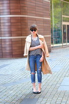 H&M jeans - Vero Moda jacket - COS shirt - Mango heels