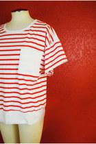 striped tshirt Sunbelt shirt
