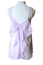 Bow-nafide Top in Lilac