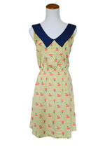 Bouquet of Roses Dress in Yellow