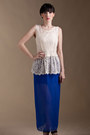Sheer Maxi Azorias Skirts