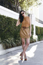 Burnt-orange-modest-mob-blouse-camel-high-waisted-modest-mob-skirt