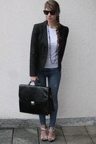 black H&M shoes
