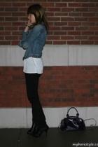 Lux shirt - forever 21 jeans - GoJane shoes - Aldo purse - bare accessories acce